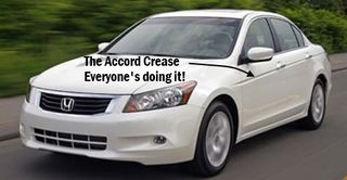 Accord crease