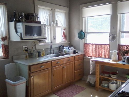 Kitchen after sink